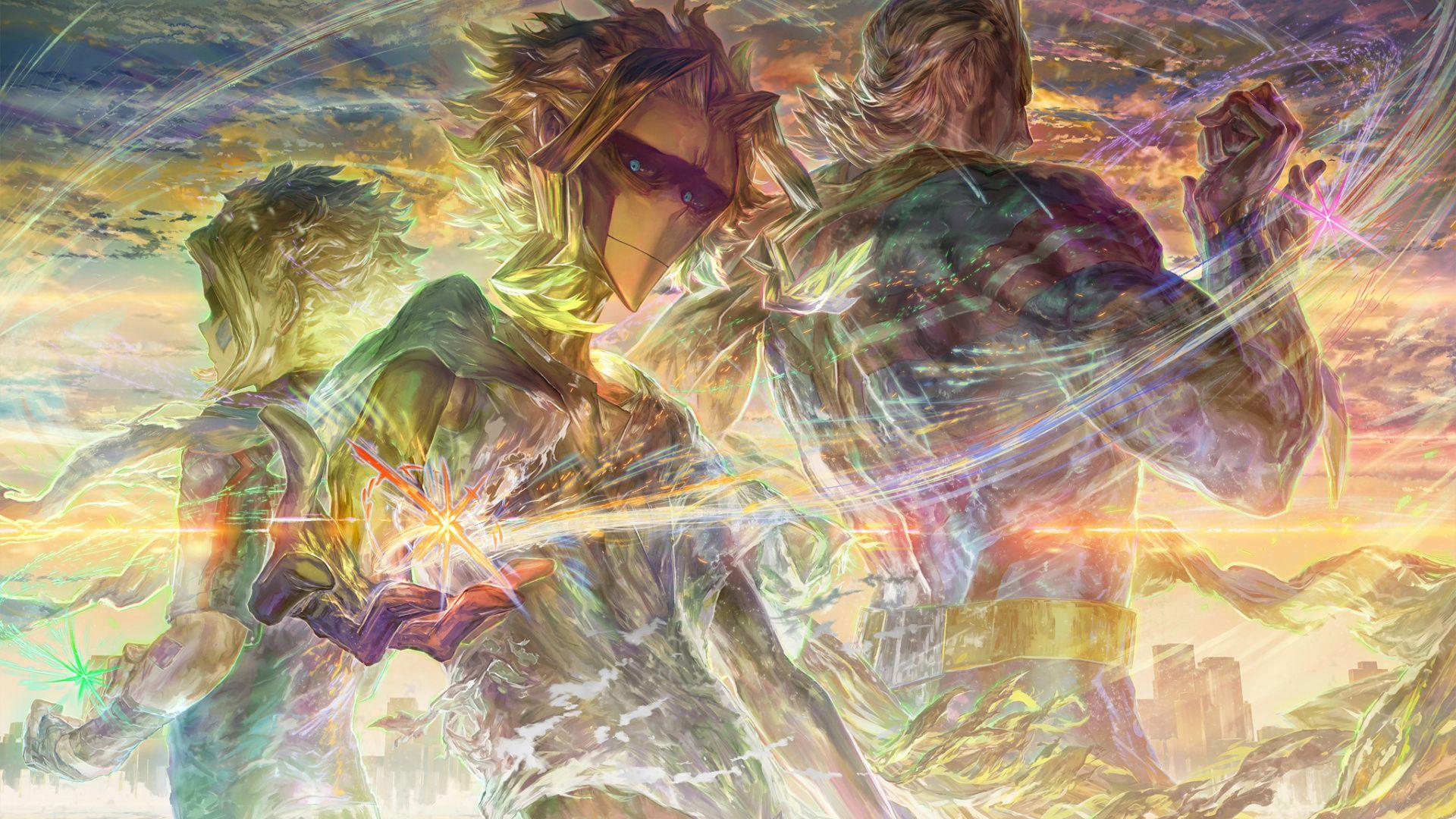 1920x1080 Wallpaper All Might Toshinori Yagi My Hero Academia Anime My Hero Academia My Hero Hero