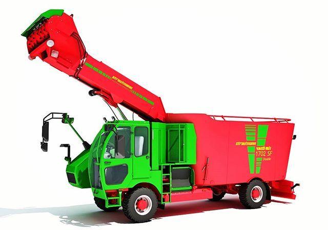 #Strautmann #Fodder #Mixing #Truck #3d #3dmodel #3dmodels #3dStrautmann