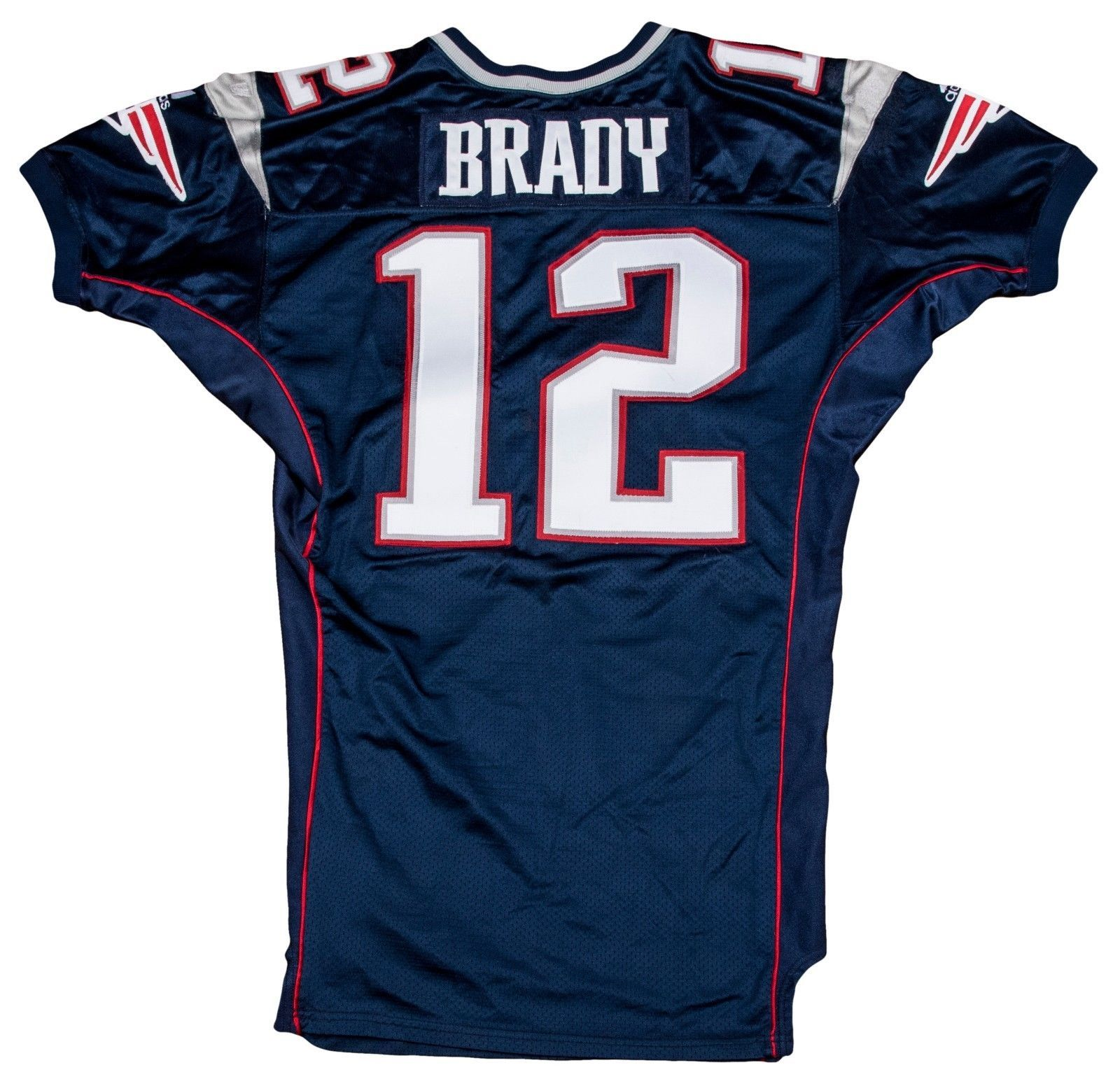tom brady game worn signed jersey