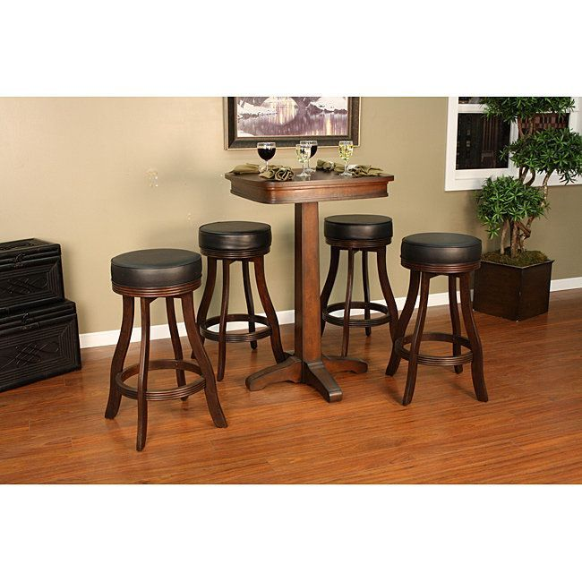 Mira Pub Table Set Brown Size 8' X 10'  Pub Table Sets And Products Magnificent Size Of Dining Room Table For 10 Design Ideas