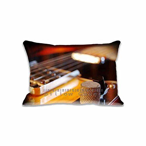 Best Fender Guitar Pillow Cases Printed Cute Music Pillow Shams Stunning Cute Decorative Bed Pillows