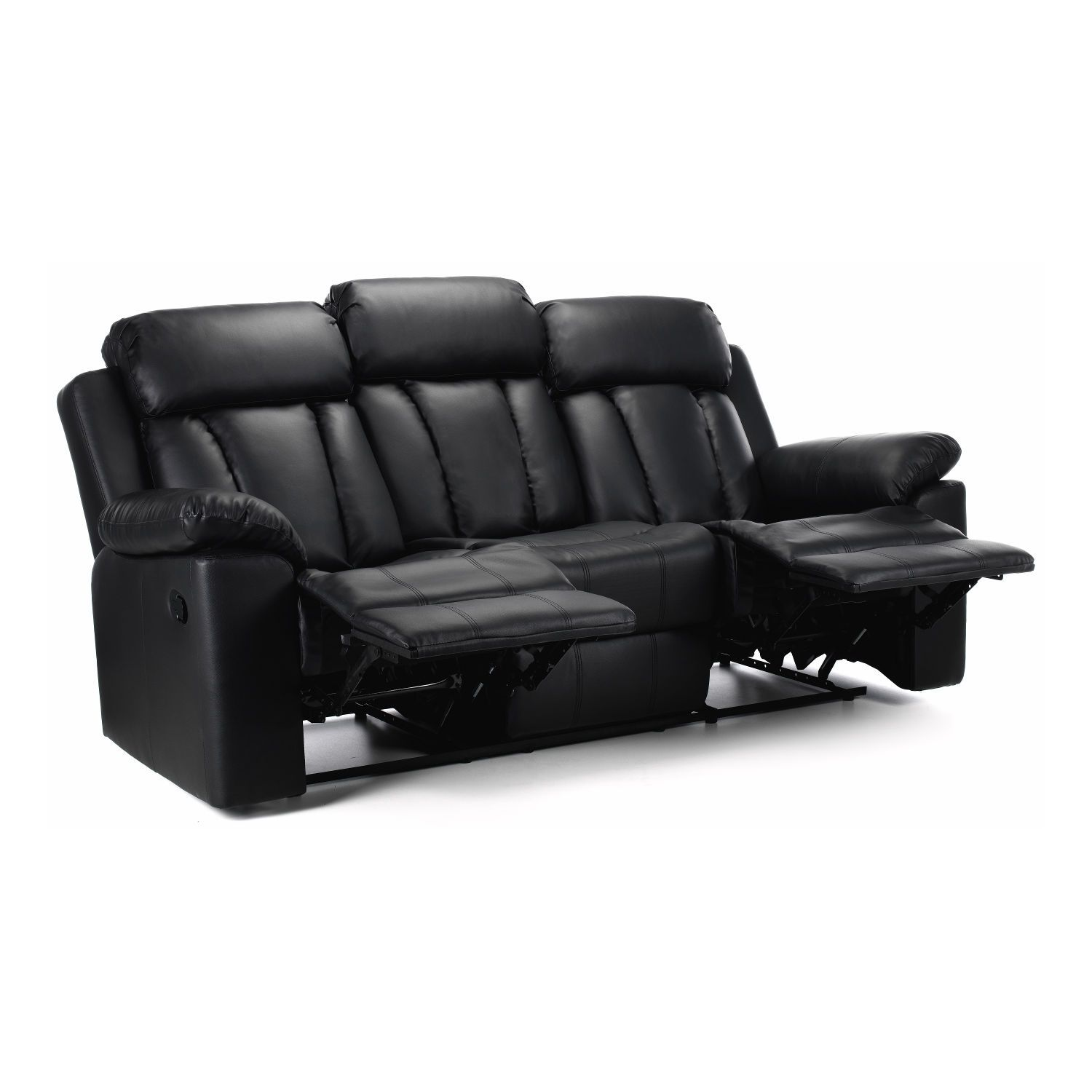 Merveilleux Cranbrook 3 Seater Leather Reclining Sofa U2013 Next Day Delivery Cranbrook 3  Seater Leather Reclining Sofa