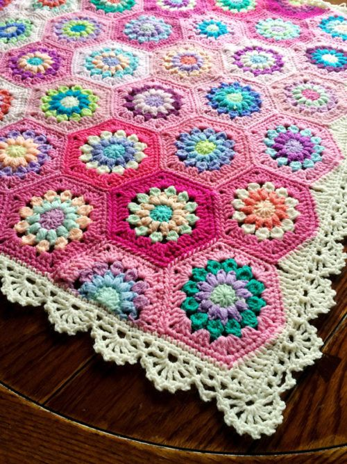 Orange Blossom Crochet Blanket Free Pattern Lots Of Ideas | Manta ...