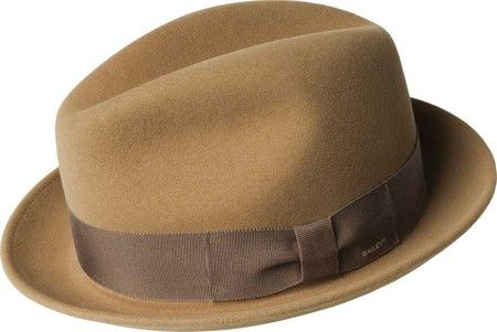 43e87746e71 Men s Bailey of Hollywood Bogan Fedora 37172BH - Camel with FREE Shipping    Exchanges. The