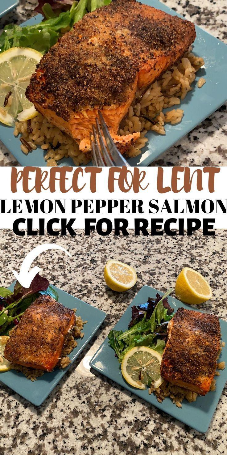 Air Fryer Salmon Lemon Pepper Recipe in 2020 (With