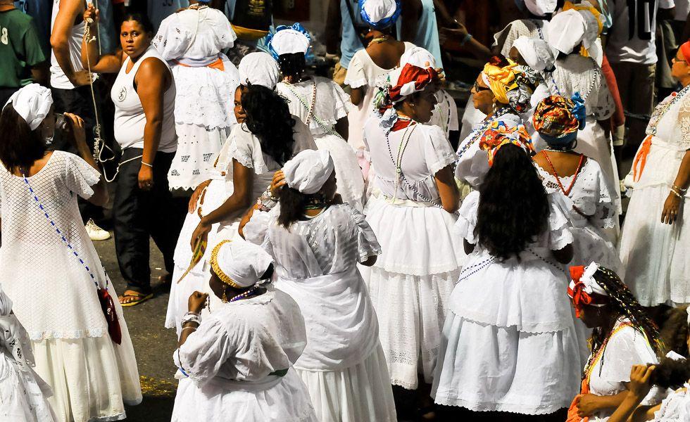 Baianas Foto: Paulo Freitas