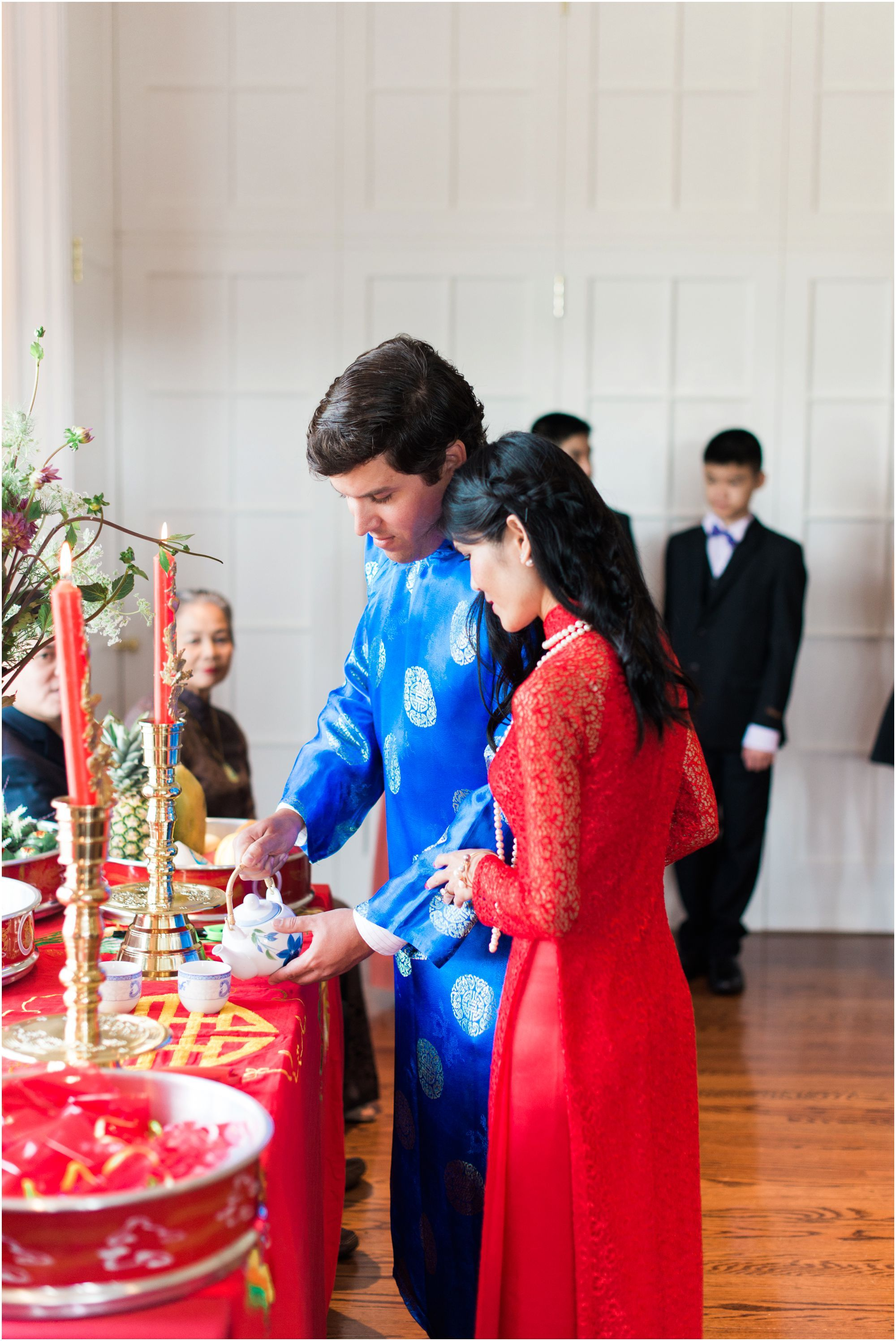 Engagement Brunch Traditional Vietnamese Tea Ceremony