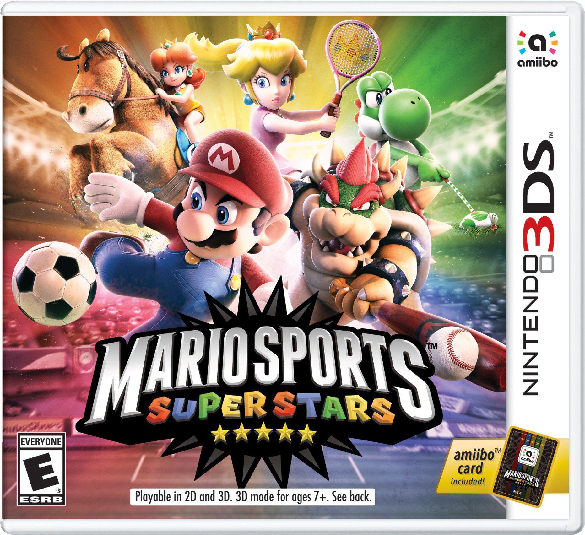mario sports superstars jeu 3ds