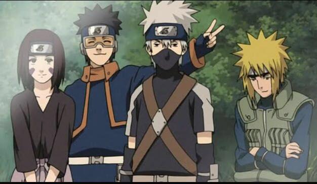 Kakashi - Team Minato | Anime naruto, Team minato, Kakashi