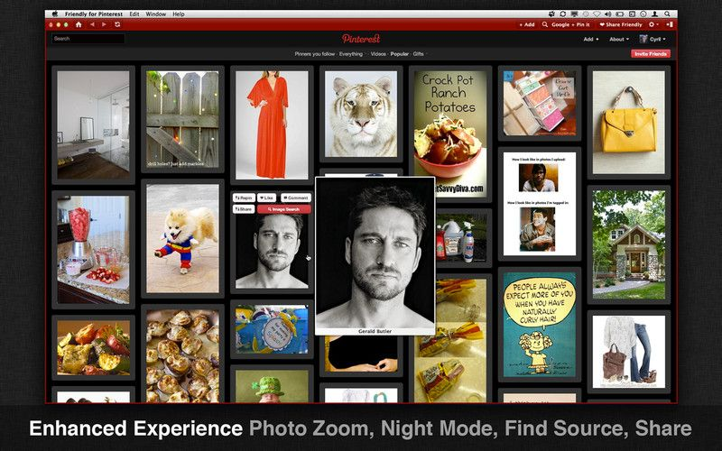 This is what i use for pinterest on my mac! keeps