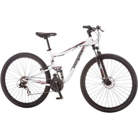 29 Mongoose Ledge 3 5 Men S Mountain Bike White Red Walmart Com Mens Mountain Bike Mongoose Mountain Bike Bicycle