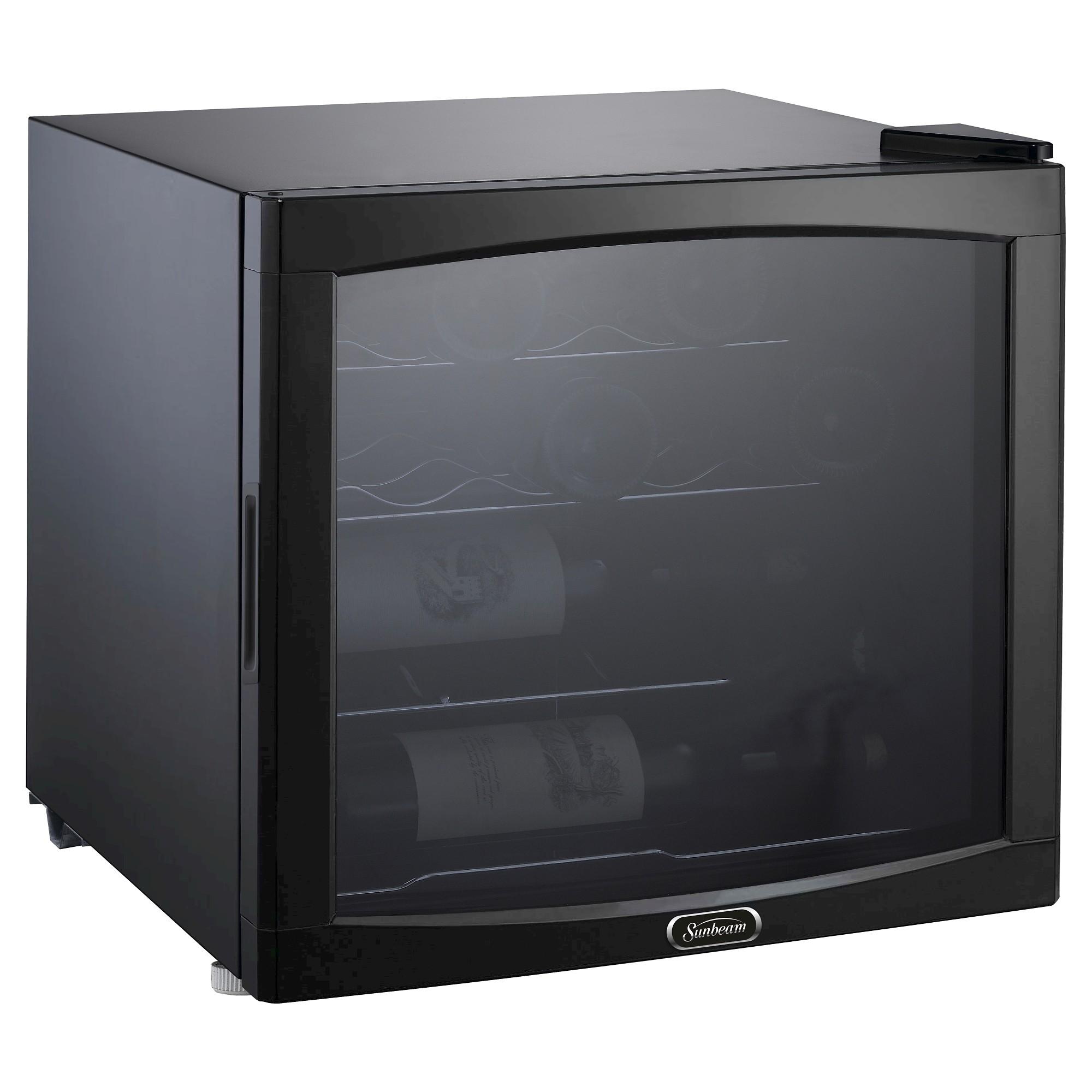 Ft Wine Refrigerator Black Jc 50n