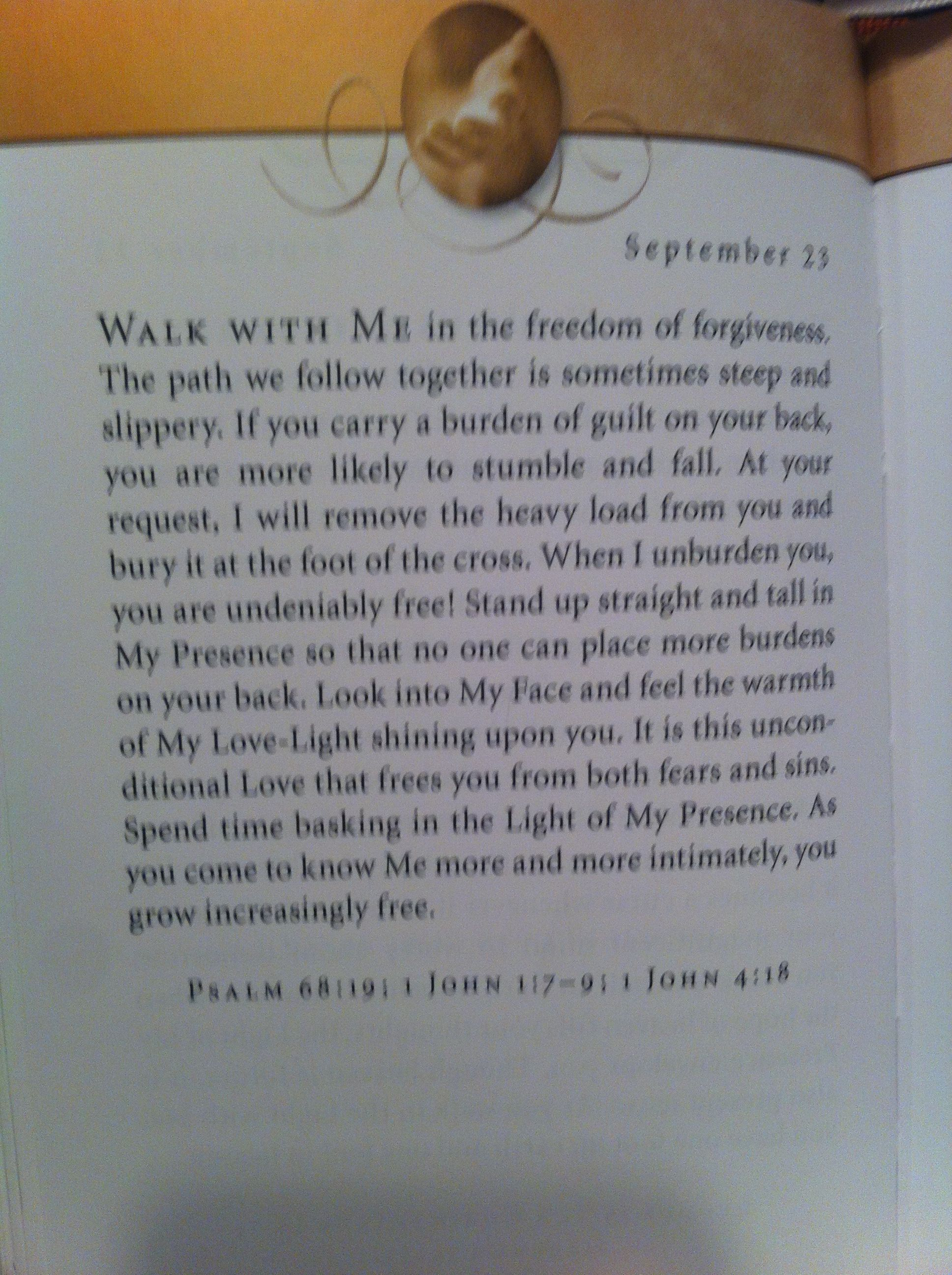 Jesus calling devotions for everyday
