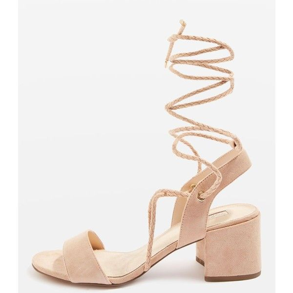 Ankle straps · Topshop Nevada Ankle Tie Sandals ...