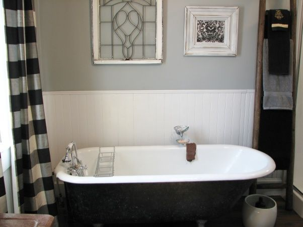 Clawfoot Tub Bathroom Designs Best Bathroom Update 100 Year Old House Clawfoot Tub & Shower Took Out Inspiration Design