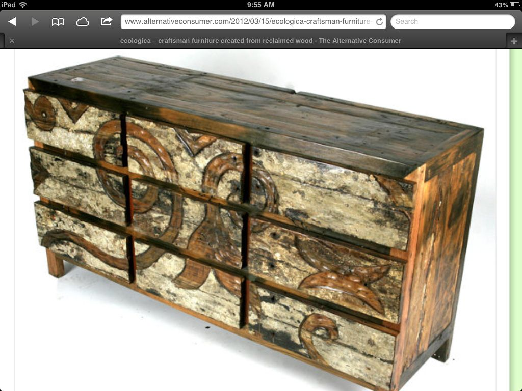 Awesome Reclaimed Wood Dresser Distressed Wood Furniture