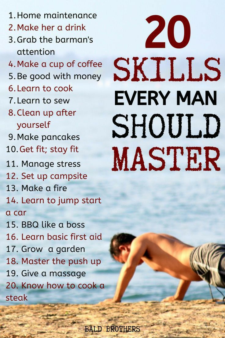 20 Skills That Every Man Should Master.