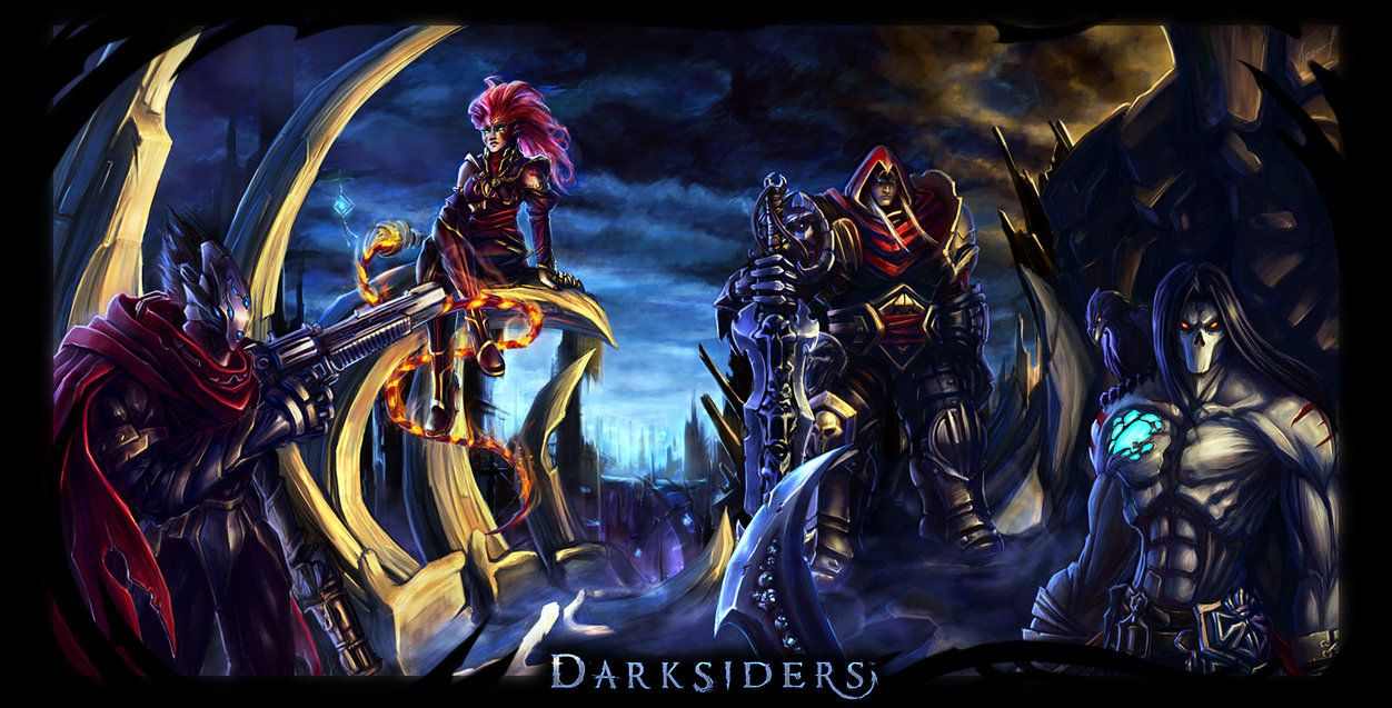 I'm very happy that new Darksiders game is comming next ...