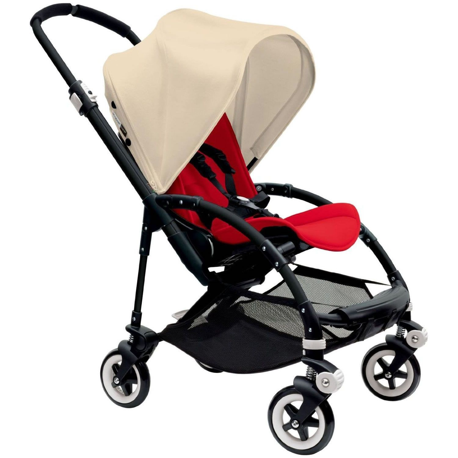 Bugaboo Bee3 Stroller Black Red OffWhite Bugaboo