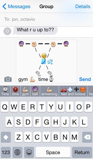 cool text symbols animals | ... - Creative SMS Art for iPhone ...