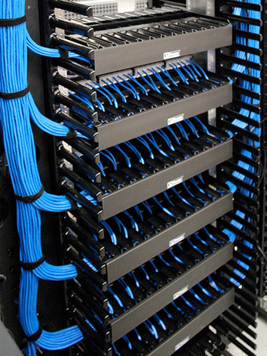Aride ocean Network Rack, It Network, Network Cable, Cable Management, Wire  Management