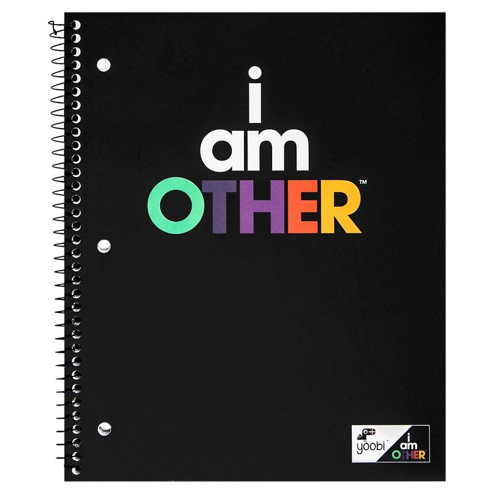 Yoobi X I Am Other Spiral Notebook College Ruled 1