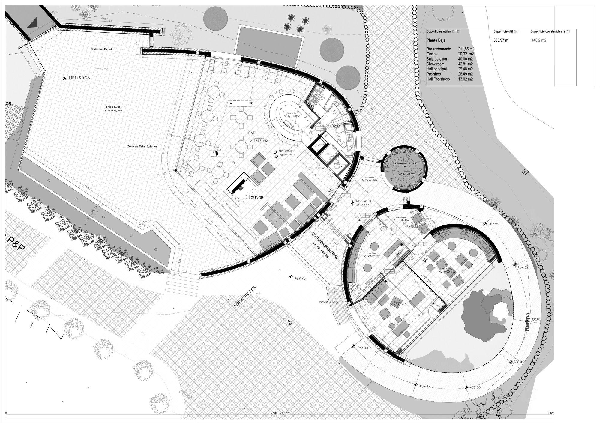 Gallery Of Golf Club House La Graiera Bc Estudio Architects 17