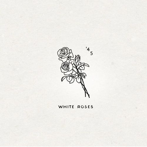 Rose White And Aesthetic Image Rose Tattoos Eye Tattoo Simple Tattoos