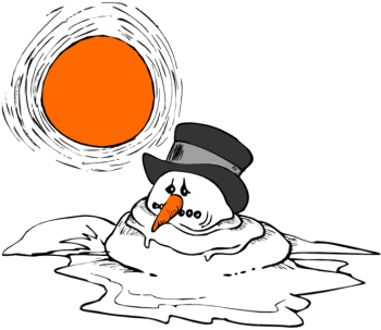 image result for melting snowman clipart rock art melting snowman rh pinterest co uk Olaf Melting Melting Snowball