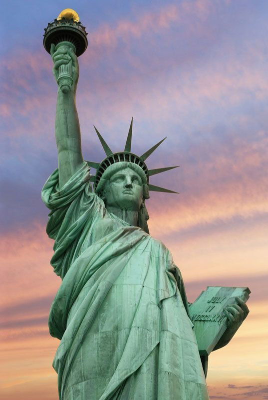 Statue of Liberty New York City  1000pc Jigsaw Puzzle By Tomax  bridge park building state state building village manhattan center of liberty square