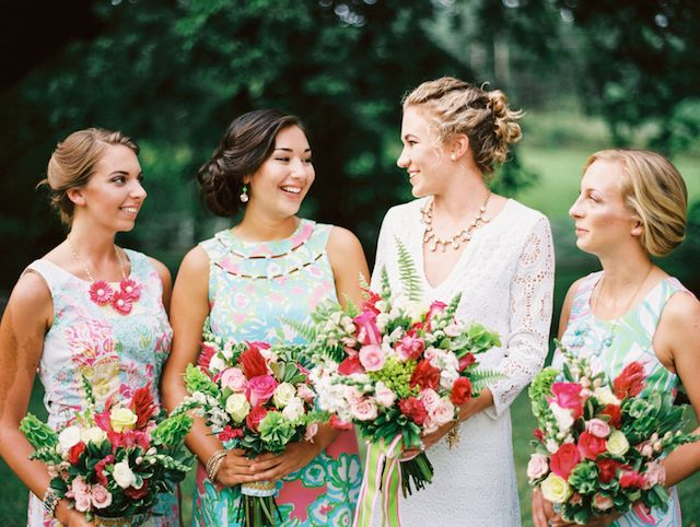 3 ways to style a lilly pulitzer wedding