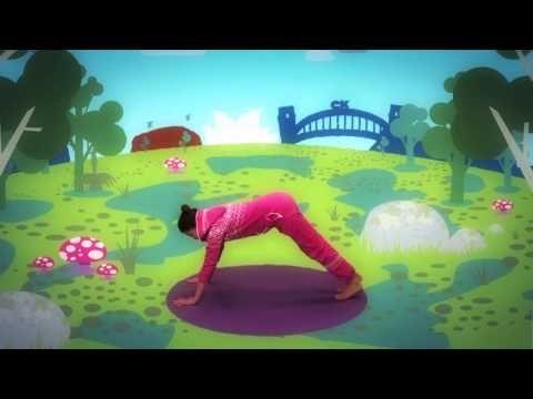 Fun Kids Yoga With Jaime From Cosmic Kids Episode 3 An Aussie Adventure Meet Kickapoo The Kangaroo And Fri Yoga For Kids Kid Yoga Video Exercise For Kids