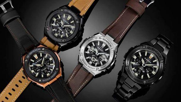 Casio представила новую коллекцию наручных часов G-Steel Street Vintage Style Collection