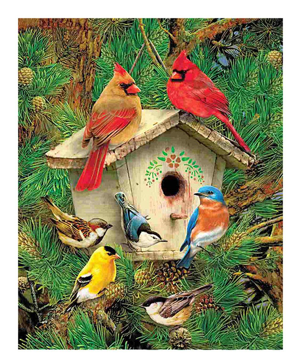 Look what I found on #zulily! Feathered Retreat 1,000-Piece Puzzle by Springbok Puzzles #zulilyfinds