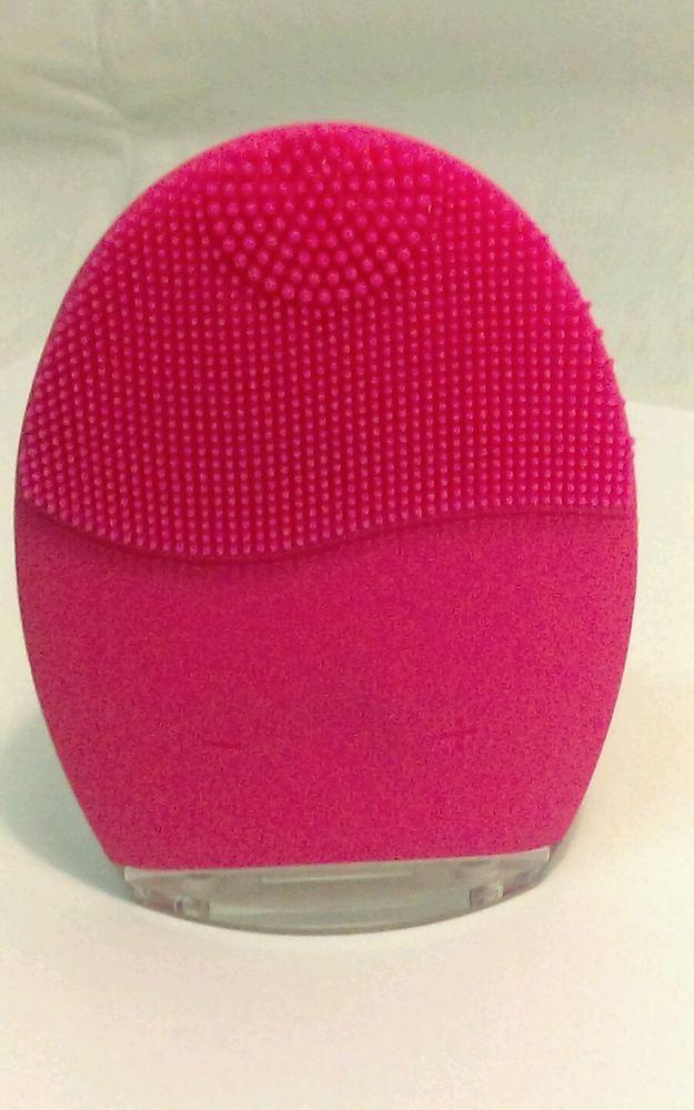 Ultrasonic LED Light Therapy Vibrating  Facial Brush Wash Machine #MBMSPA