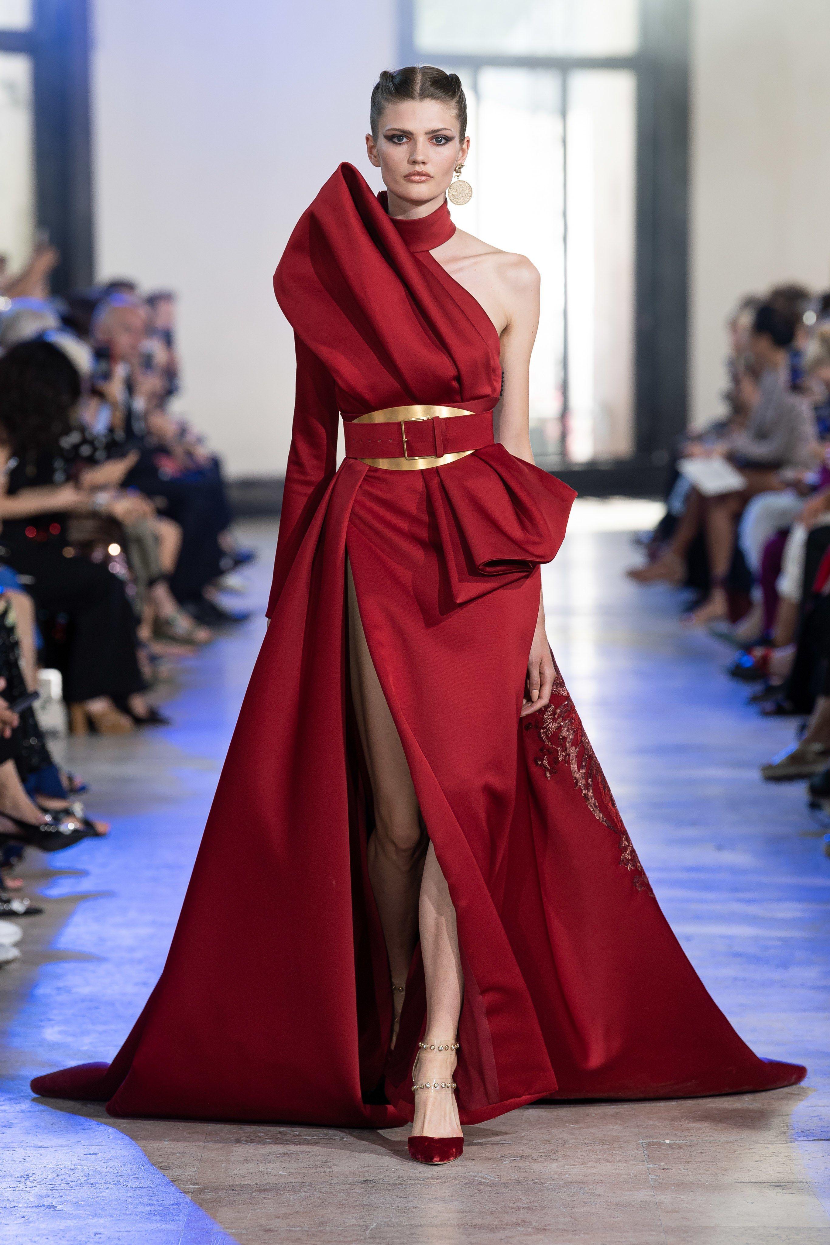 Elie Saab Fall 2019 Couture Fashion Show