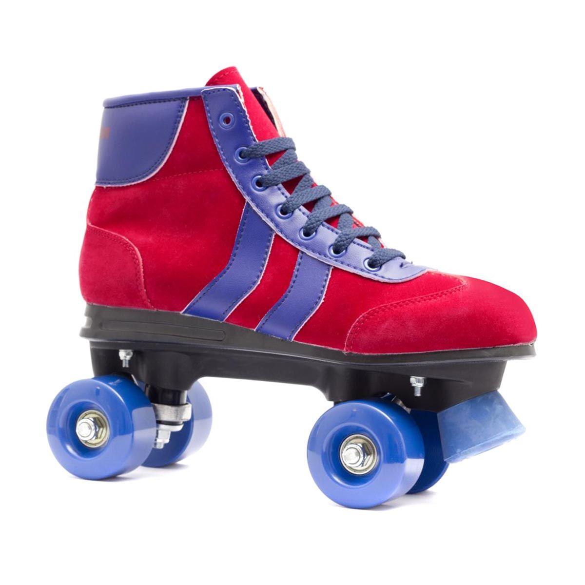 Roller skates for free - Roller Skate Accessories Blazer Retro Quad Roller Skates Red Blue Free Uk