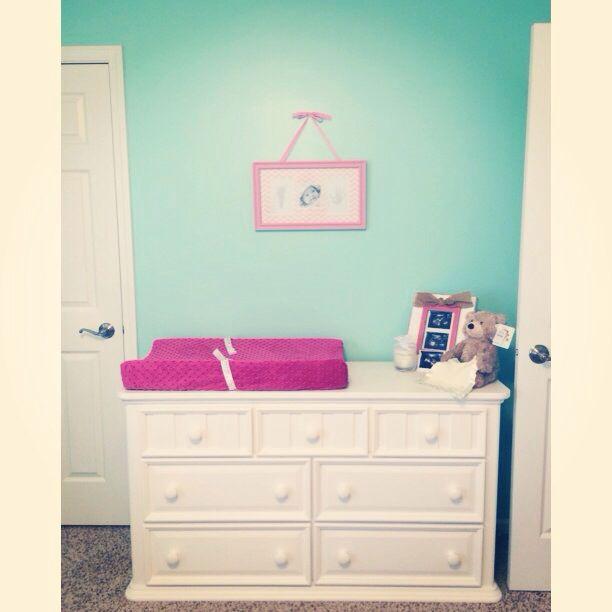 Bedroom Dressers Art Van: Baby Girl Nursery! Paint Color: Valspar Meadow Mist