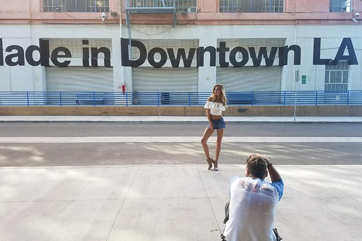 5ad674bf43 Made in Downtown LA #kancan #denim #shorts #denimshorts #distressed ...