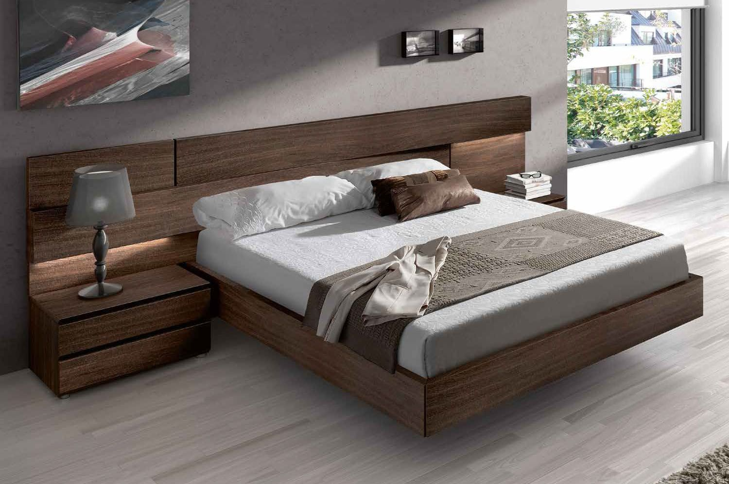 Best Made In Spain Wood High End Platform Bed With Extra 640 x 480