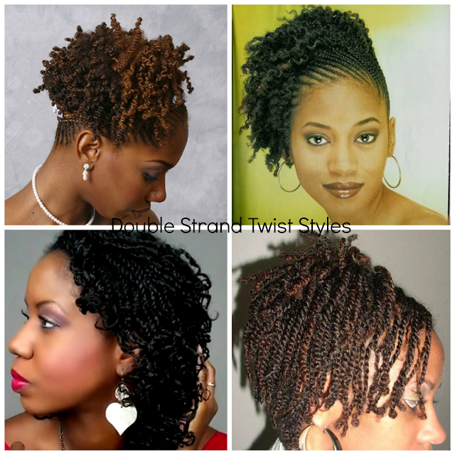 Unique Double Two Strand Twisted Natural Hair Styles Hair