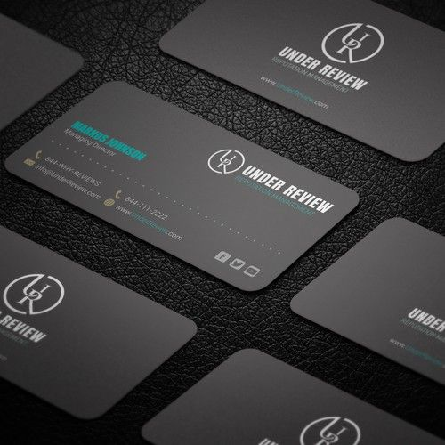 Under review business card design under review is a reputation under review business card design under review is a reputation management software service for online reviews reheart Gallery