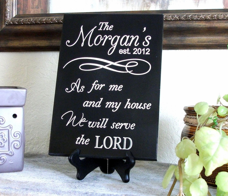scripture plaque ding name sign established name sign