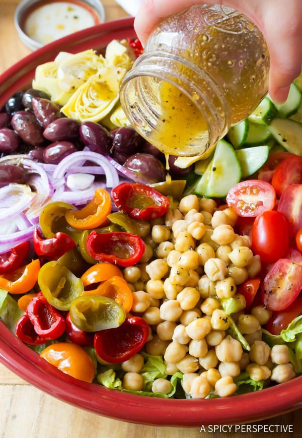 Fresh and Crunchy - My Big Fat Greek Salad Recipe