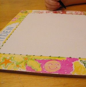 Pretty dry erase board tutorial