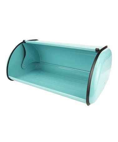 Turquoise Bread Box Look What I Found On #zulily Turquoise Bread Box #zulilyfinds  For