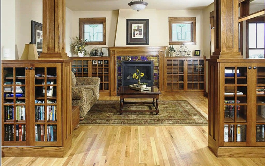 Craftsman Style Home Interiors | True Craftsman | Visually Find Home Improvement ideas, Home ... #craftsmanstylehomes