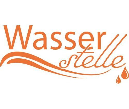 Wasserstelle, Drops Wall Sticker East Urban Home Colour: Pastel orange, Size: 110 cm H x 244 cm W