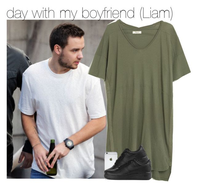 """day with my boyfriend (Liam)"" by juu-jucry ❤ liked on Polyvore featuring Madewell and NIKE"