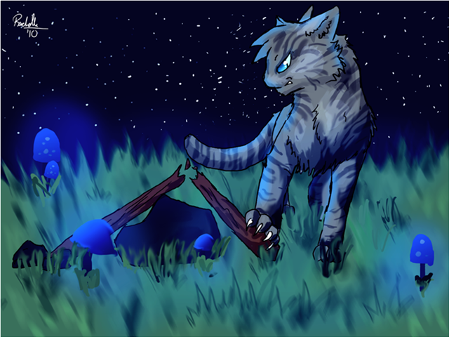 Jayfeather Breaking His Stick He Was Mad I Get It With Images